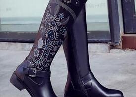 Обувь в этно-стиле