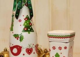 Декупаж подарочных аксессуаров