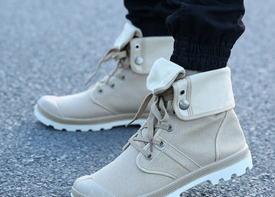 Мужская обувь в стиле милитари