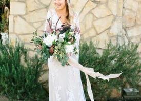 Платье невесты в стиле бохо