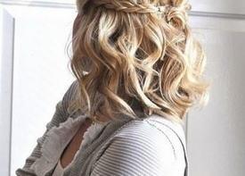 Бохо стиль для коротких волос