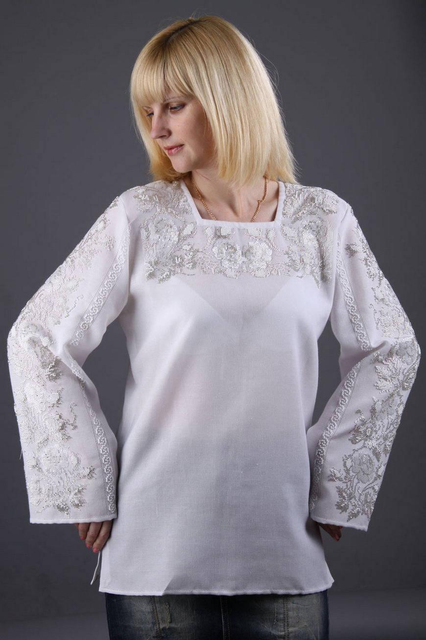 Купить Вышитую Блузку В Спб
