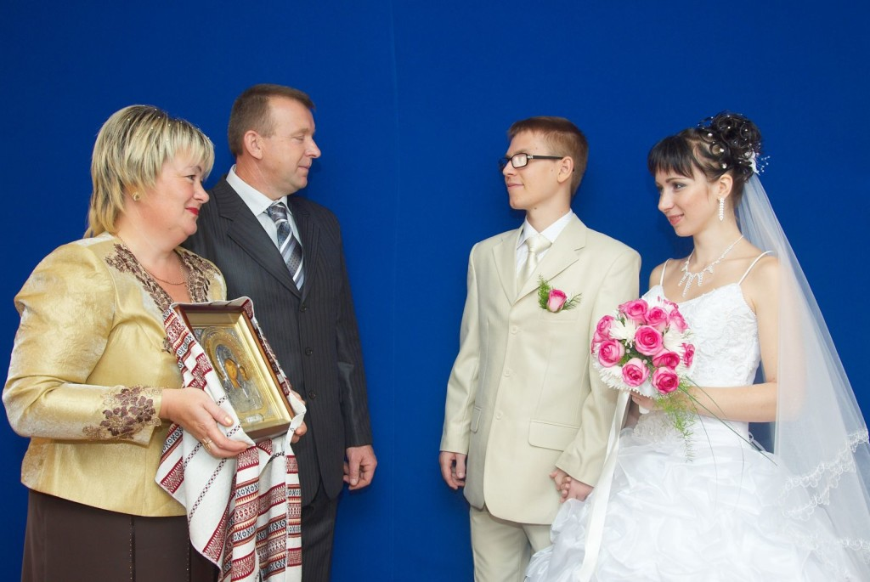 Свадебный украинский рушник