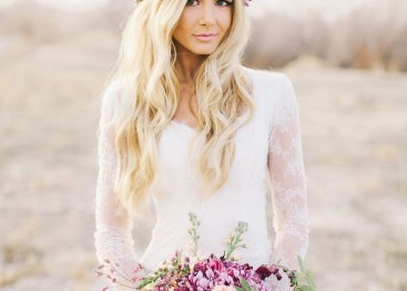 Букет невесты в стиле бохо