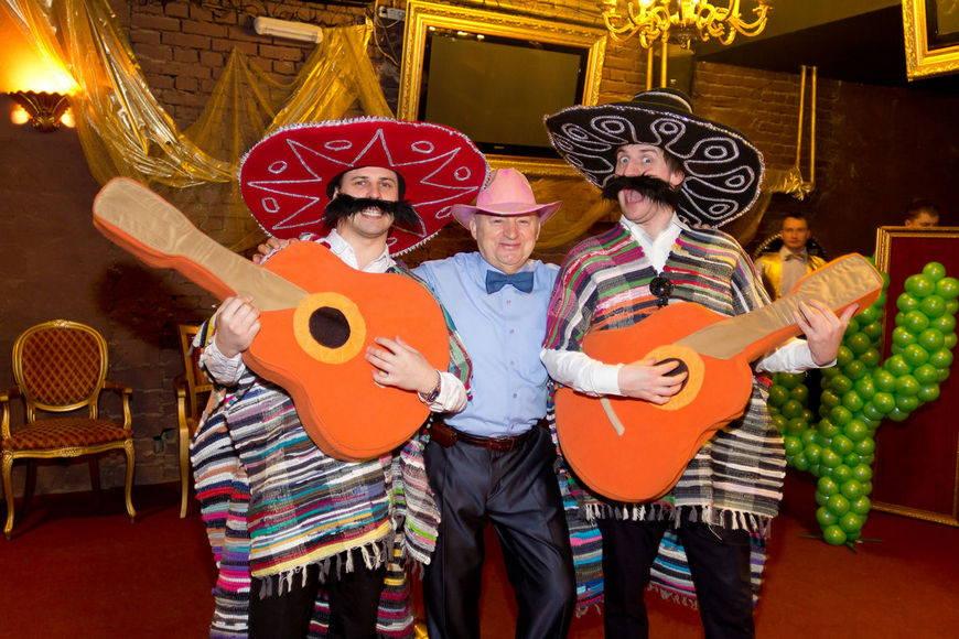 Мексиканская вечеринка дома
