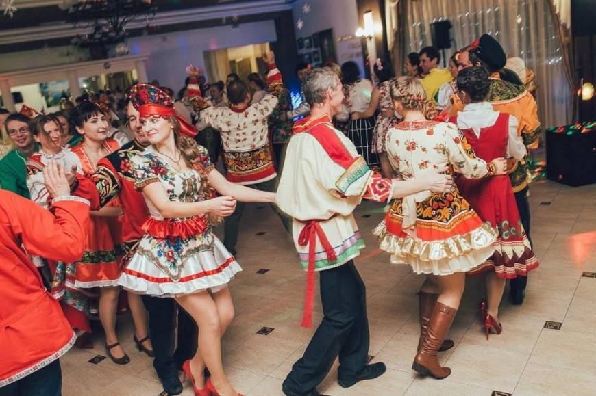 вечеринка в русском стиле