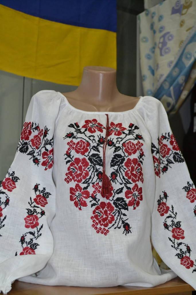 Роза-украинская вышиванка