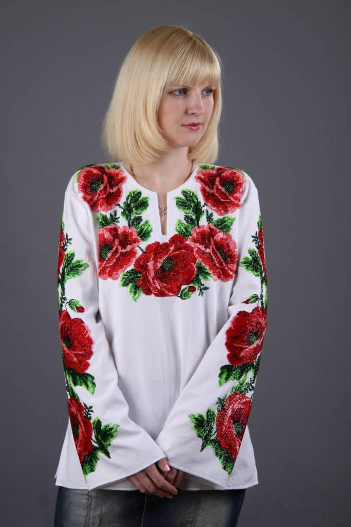 украинская вышивка бисером
