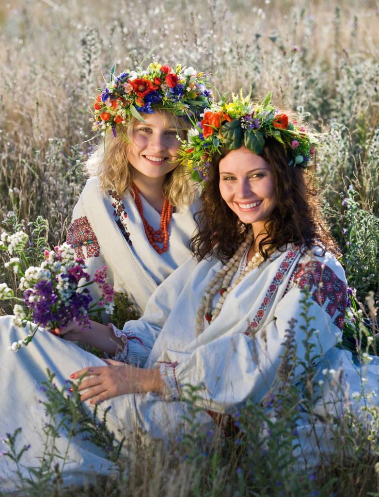 Подруги-украинки