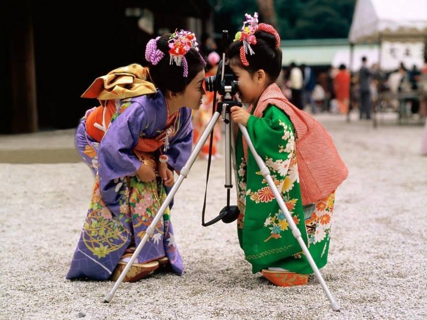 детское японское кимоно
