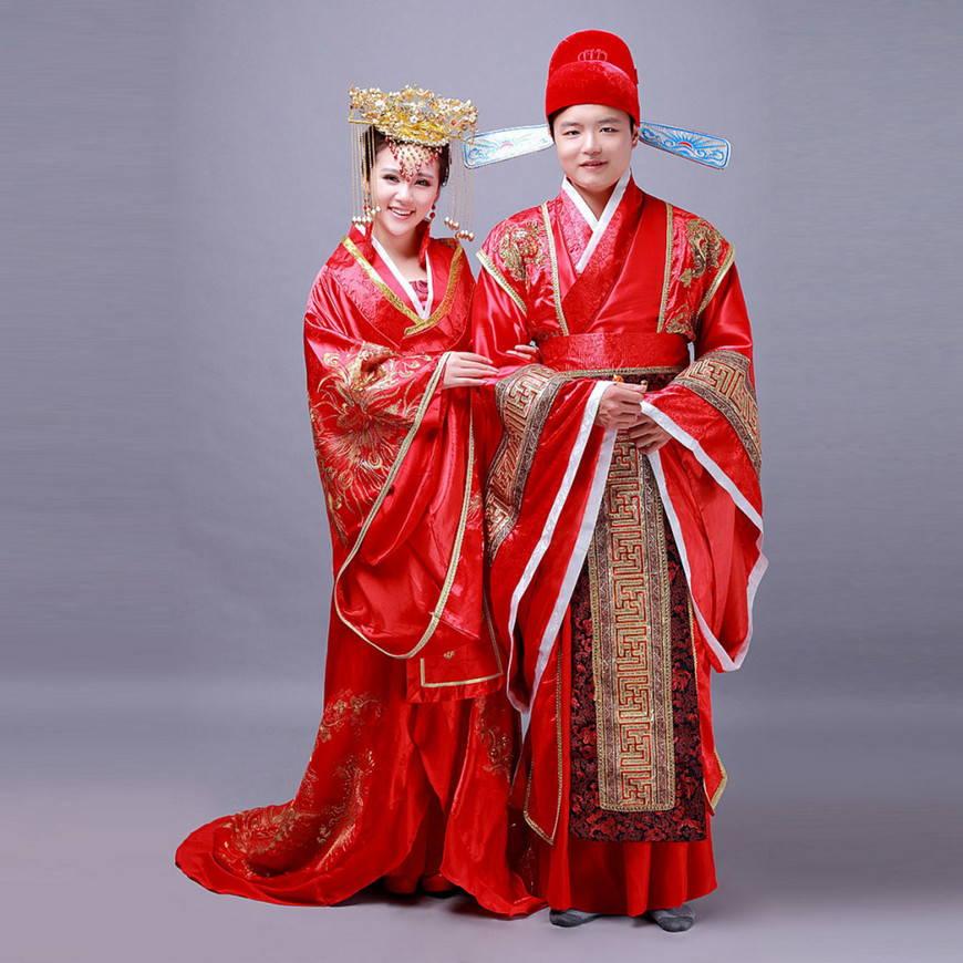 китайский наряд для багатых