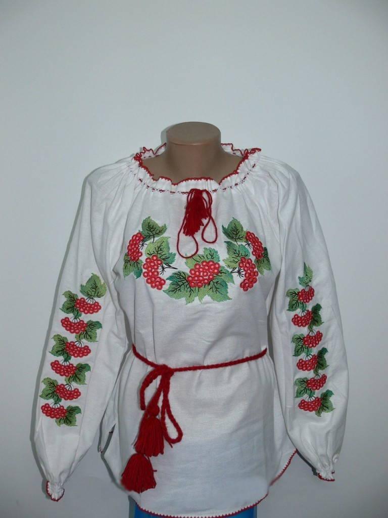 Калина-украинская вышивка