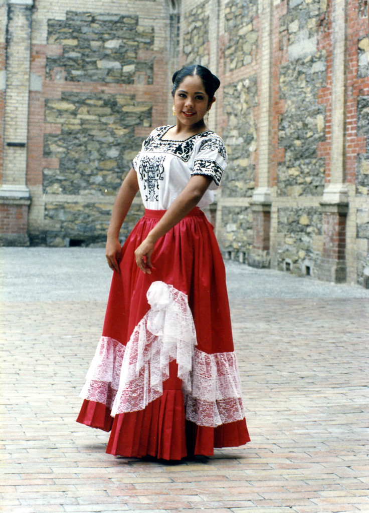 мексиканский платье