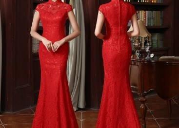 Китайские свадебные платья