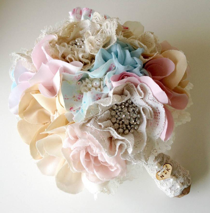 текстильный букет