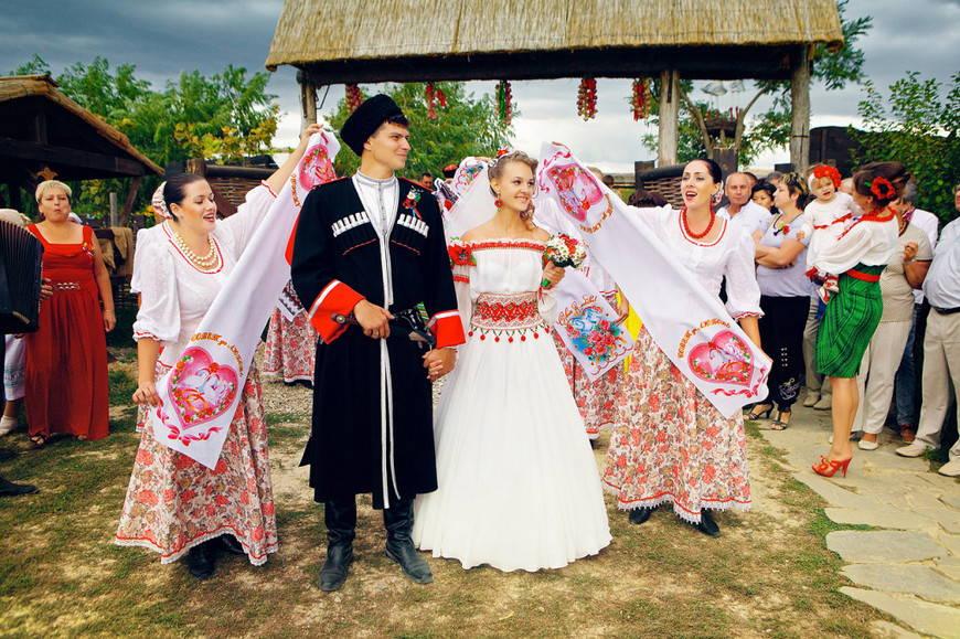 свадьба кубанских казаков