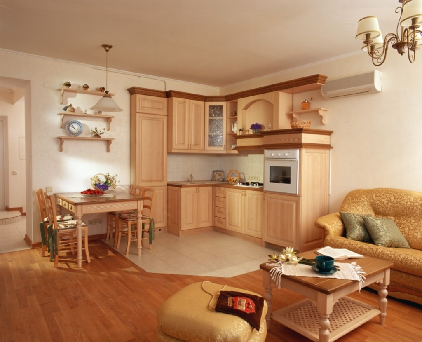 Квартира в стиле кантри