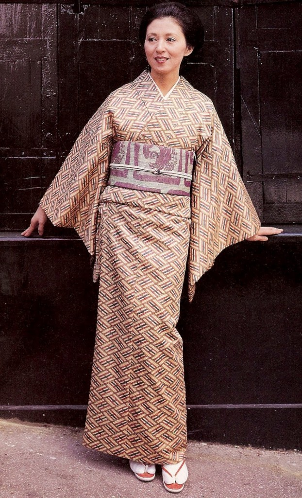 Комон японские кимоно