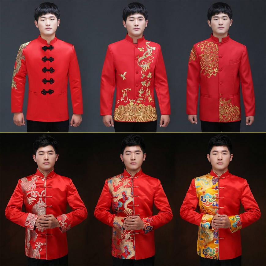 китайский свадебный наряд