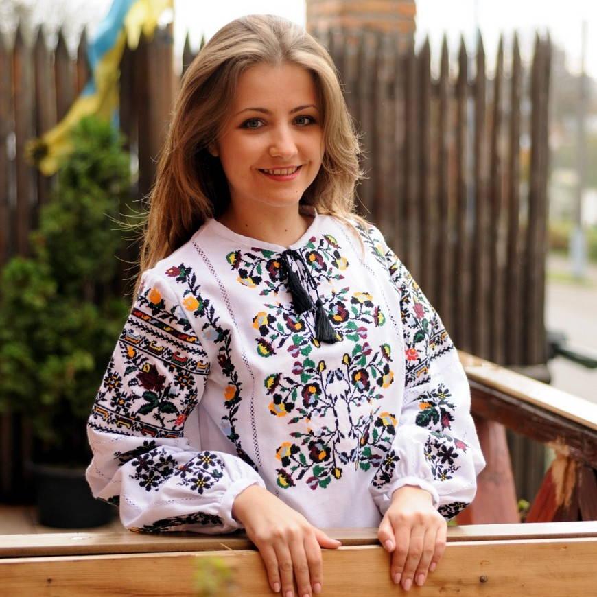 Традиционная украинская вышивка