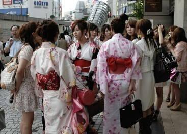 Традиционные японские пояса
