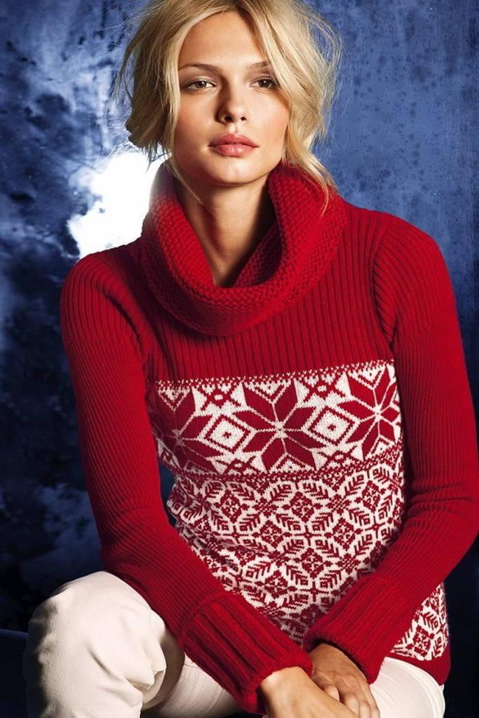 Традиционный свитер