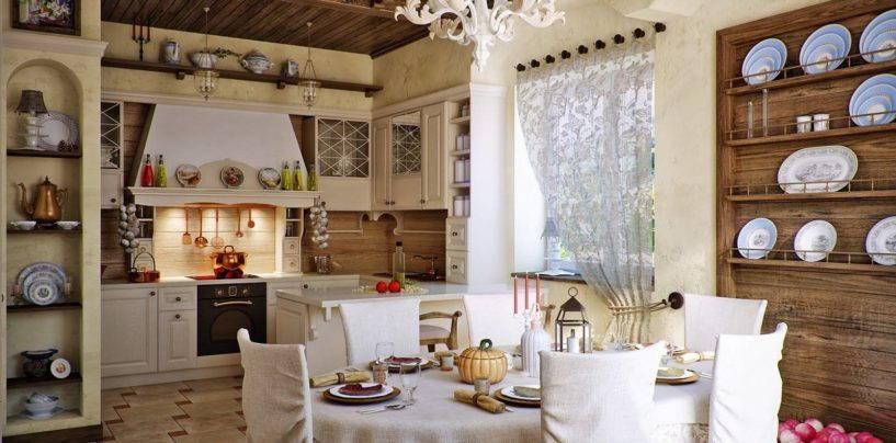Уютный и душевный русский стиль в оформлении интерьера