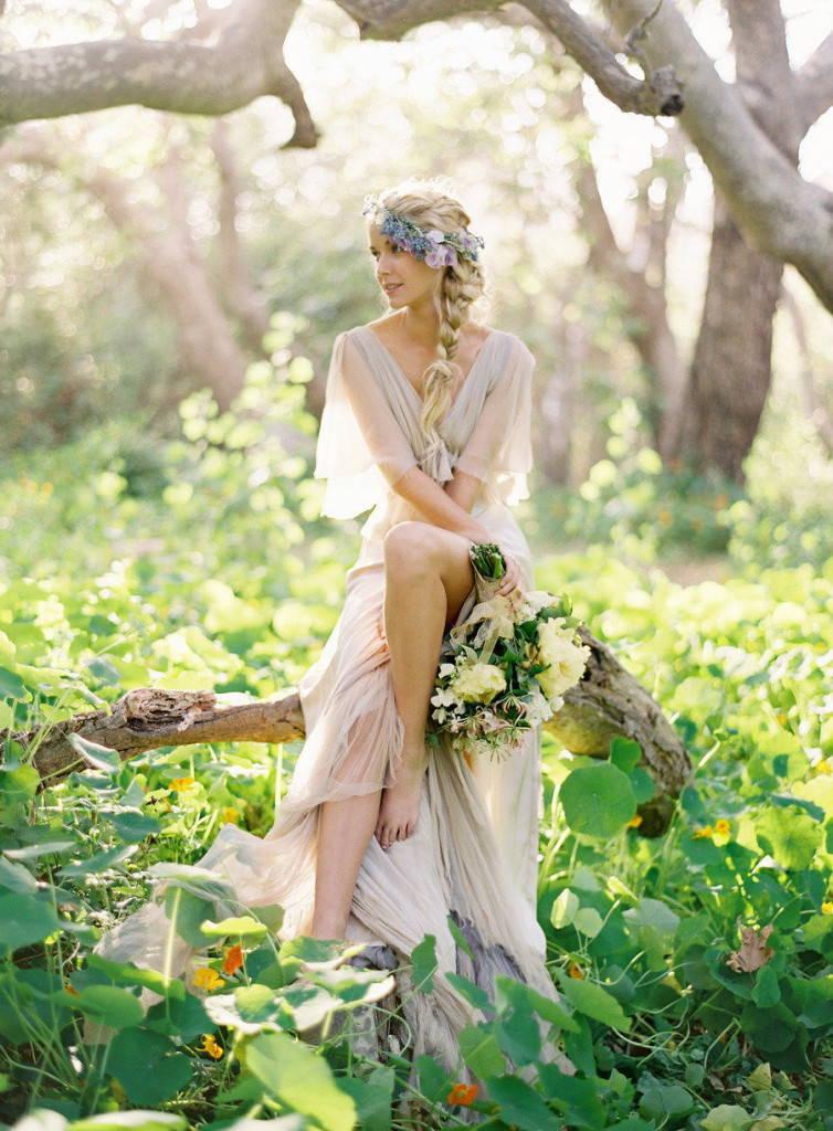 Изящность невесты в стиле бохо