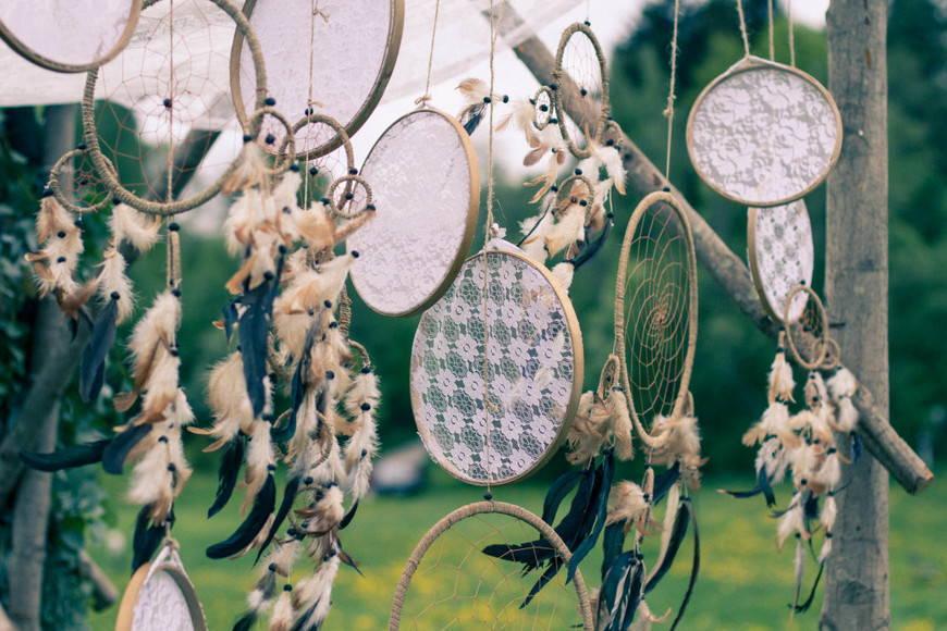 Декоры свадьбы в стиле бохо