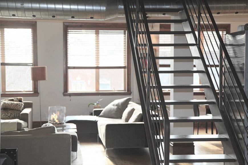 аксессуары квартиры в стиле лофт
