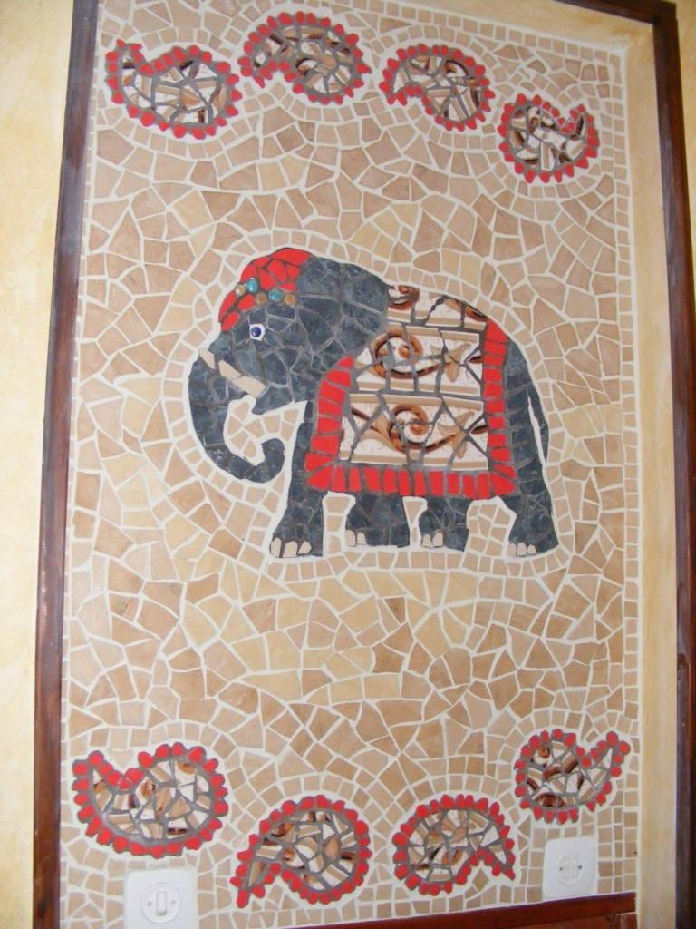 плитка в индийском стиле