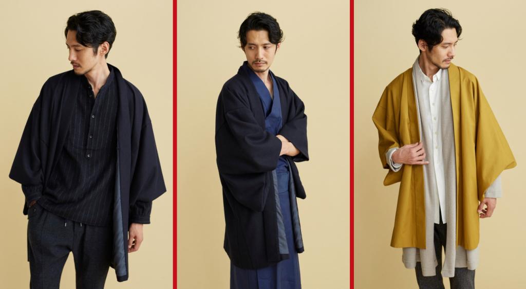 Хаори японские кимоно