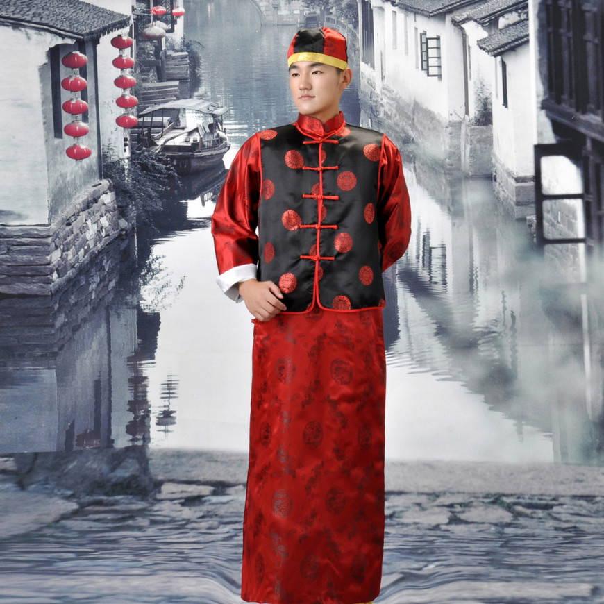 мужской китайский наряд