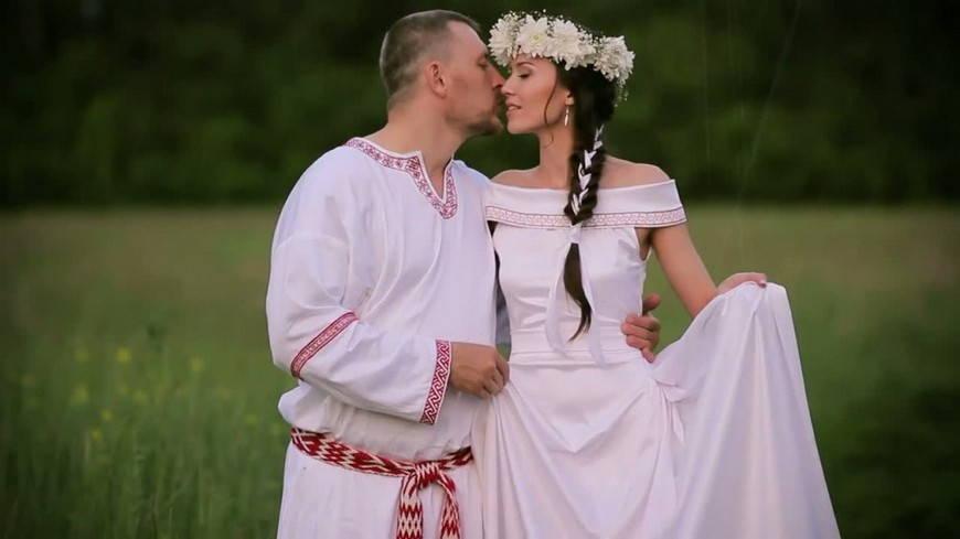 вариант свадебных нарядов