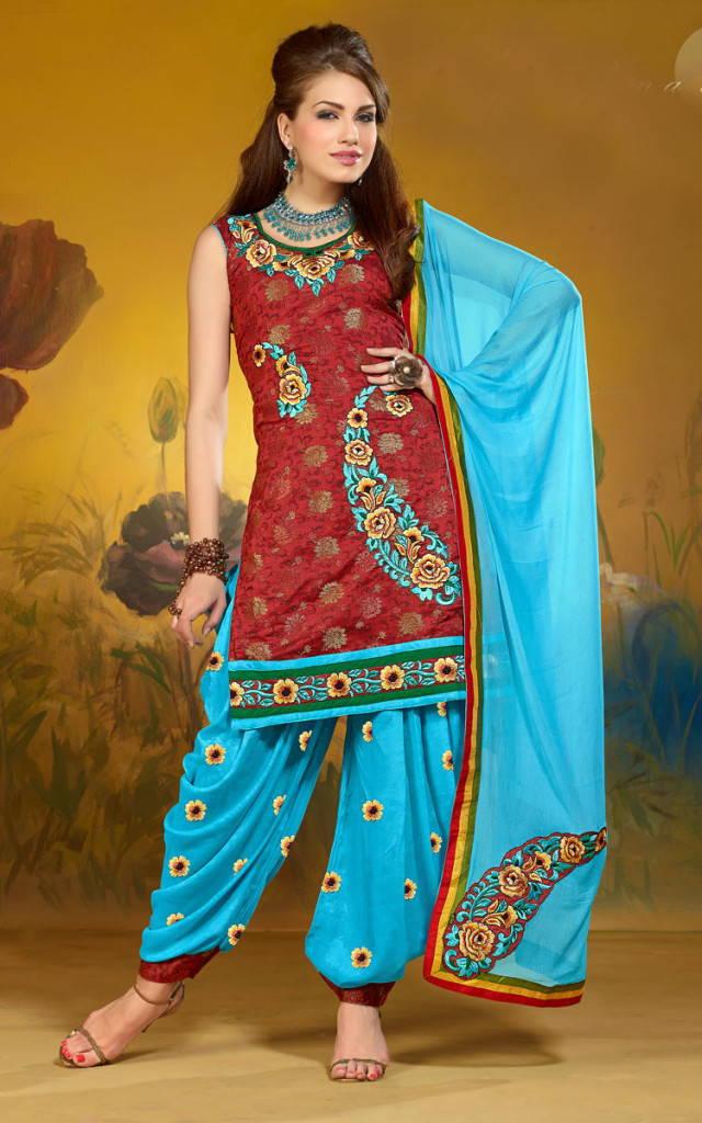 сальвар камиз-индийский стиль