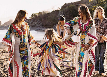 Платья в стиле хиппи