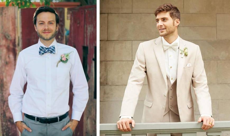 Свадебные костюмы для жениха 2017 - фото лучших моделей