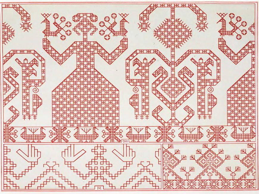 украинский орнамент берегиня