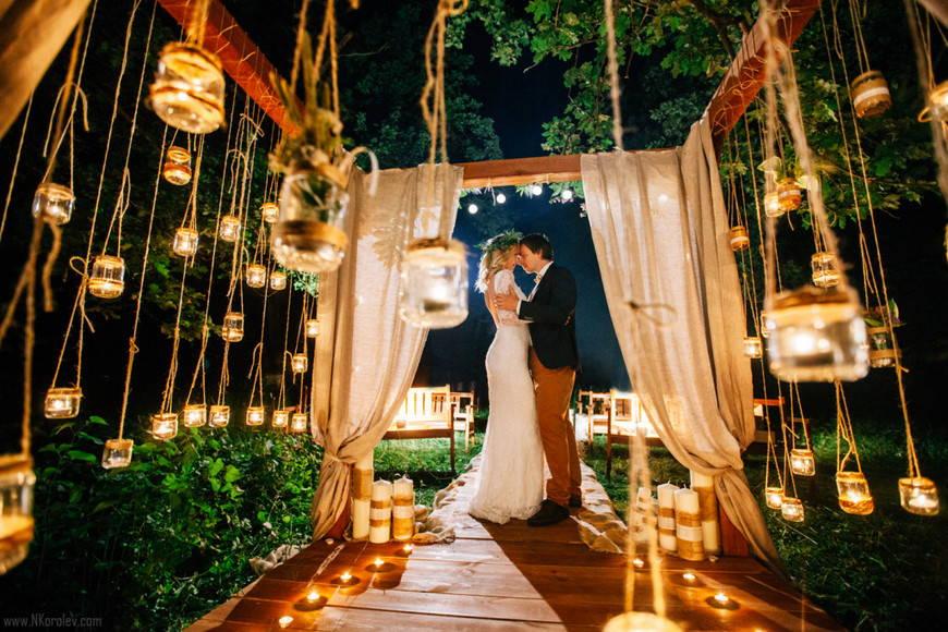 Сказочная атмосфера свадьбы в стиле бохо