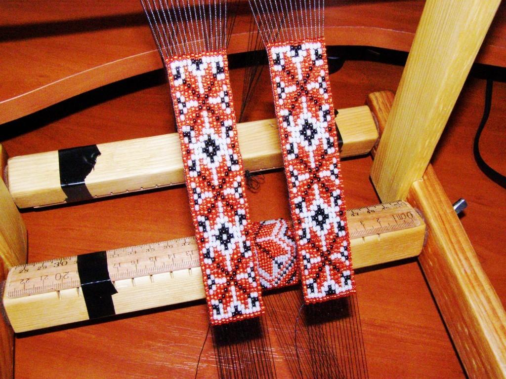Плетение украинского гердана