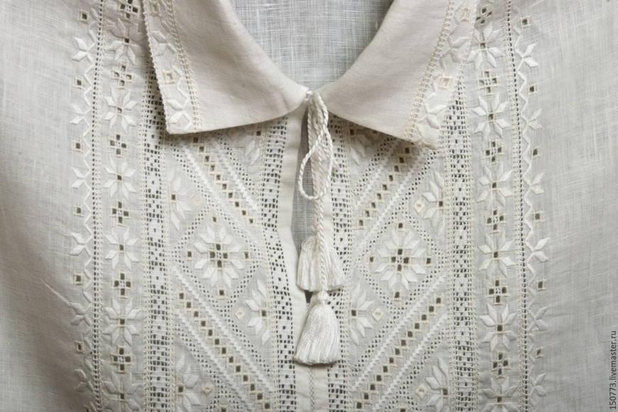 Полтавская украинская вышиванка