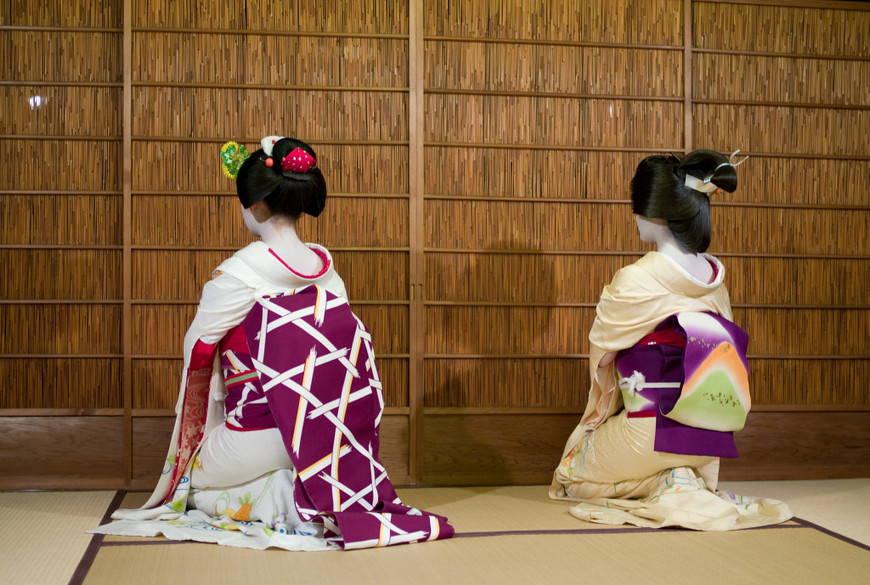 Пояс оби в кимоно