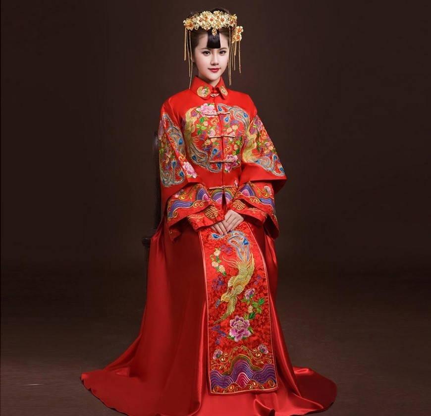 китайский праздничный наряд