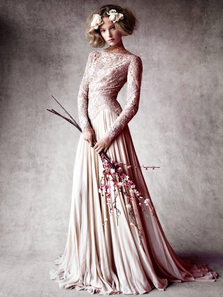 невеста в стиле шебби