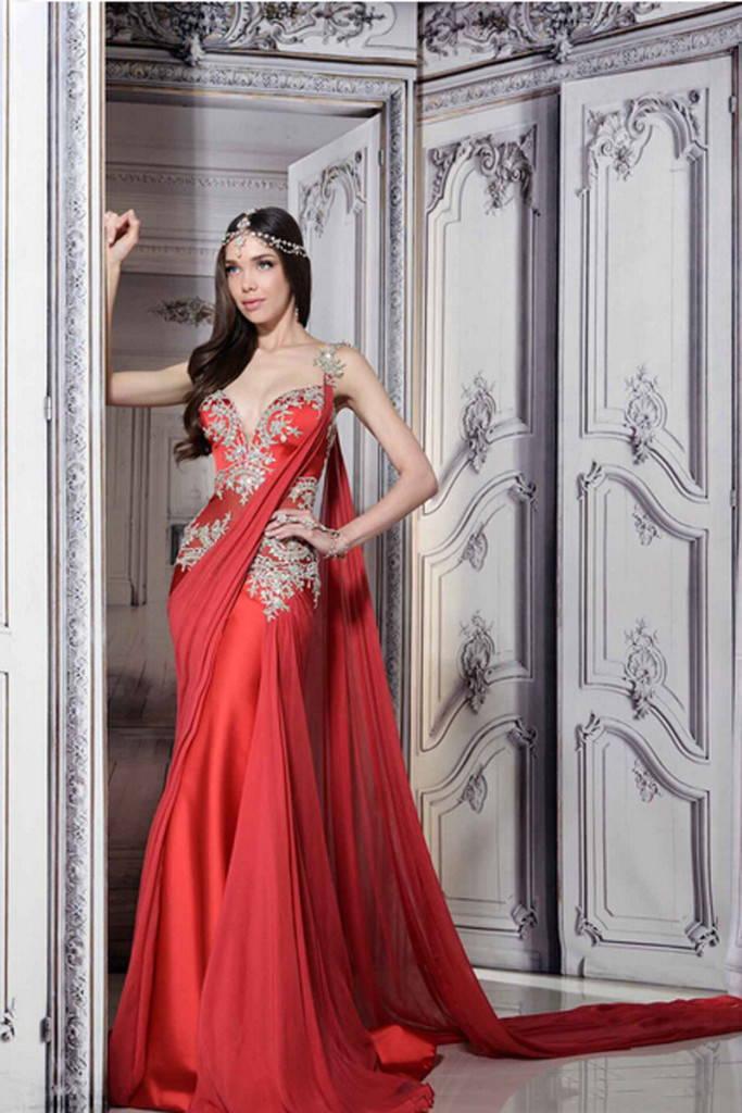платье-индийский стиль