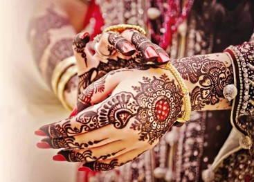 Индийская роспись мехенди