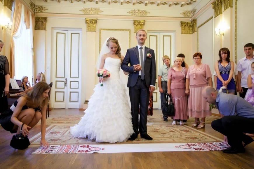 венчальный украинский рушник