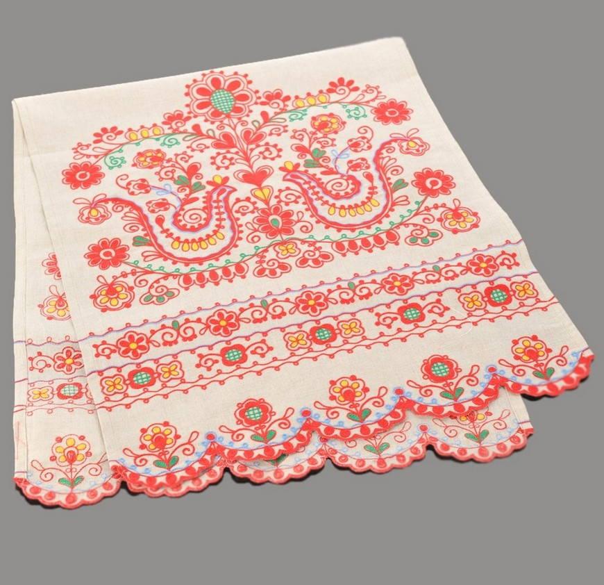 Голубь-украинская вышивка