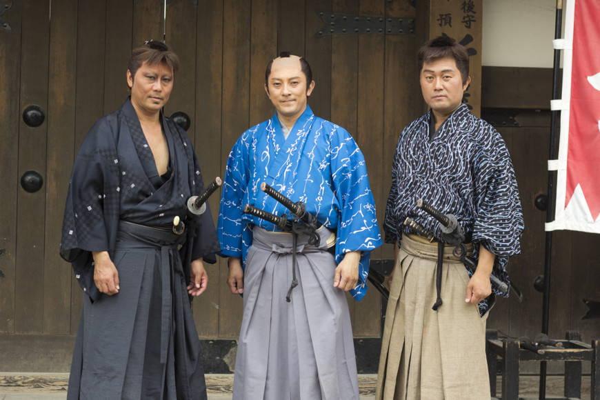 Эдокомон мужское кимоно.