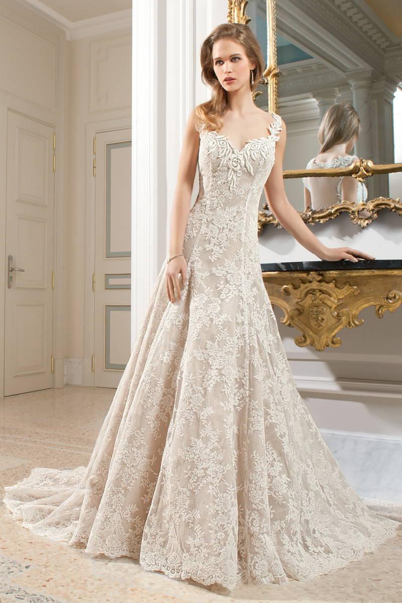 Свадебное платье в стиле шебби шик